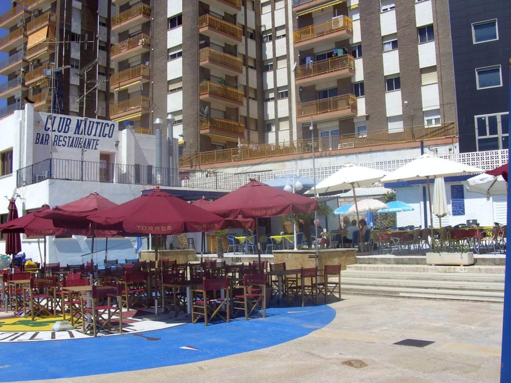 Das Hafenrestaurant von Vinaròs