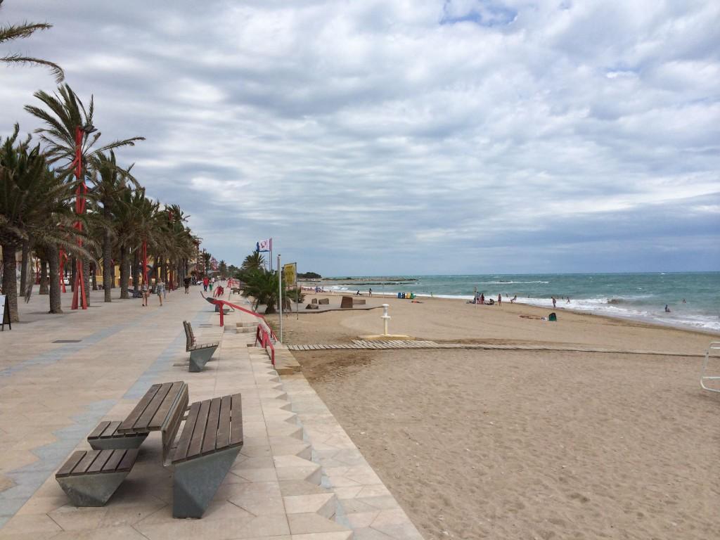 Der Strand von Vinaròs